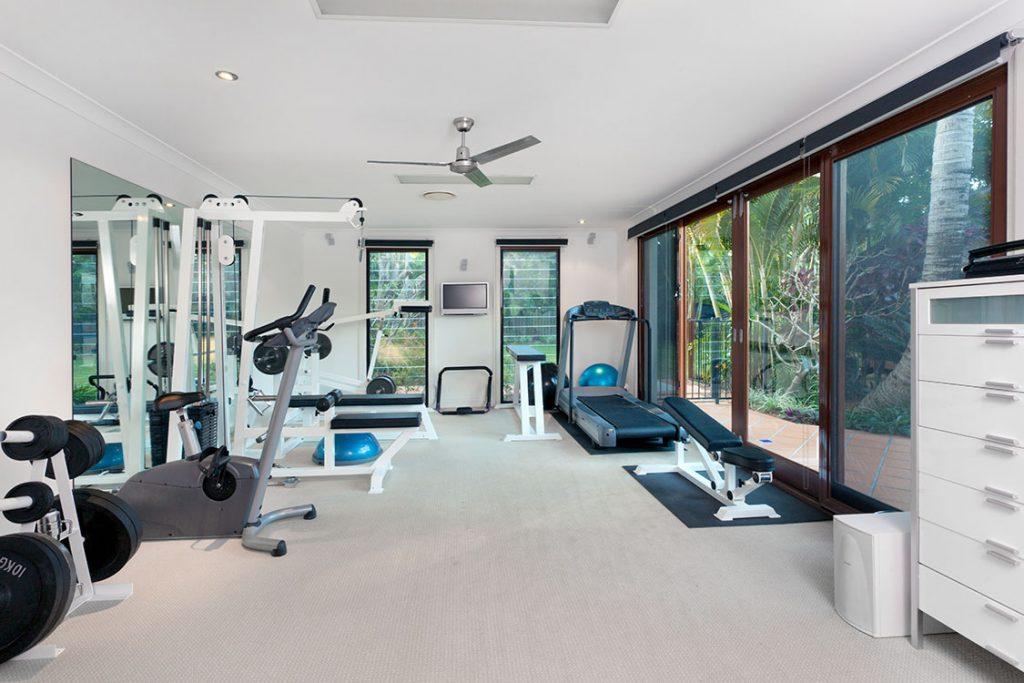 Indoor home gym