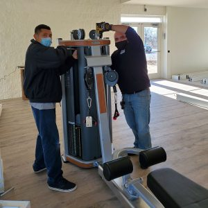 Fitness equipment assembly in Chicago, IL