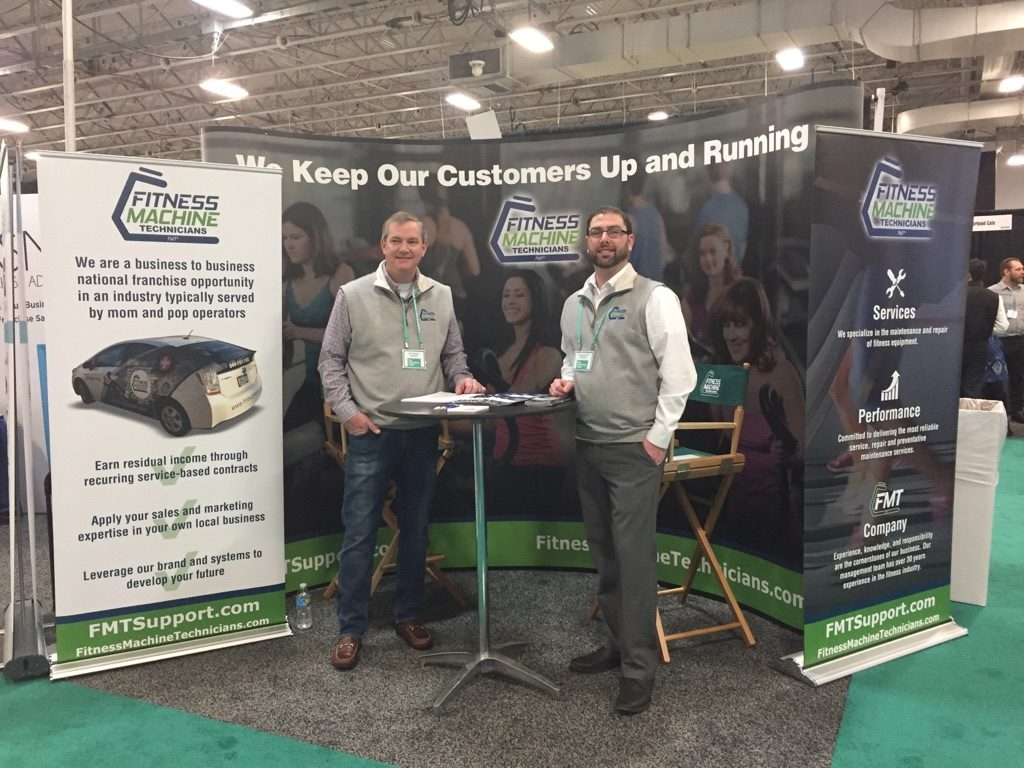 Don and Tom at the Franchise Expo