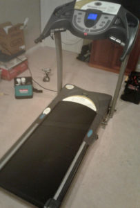 Fixed treadmill