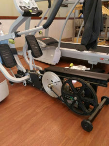 Recumbent cross trainer repair