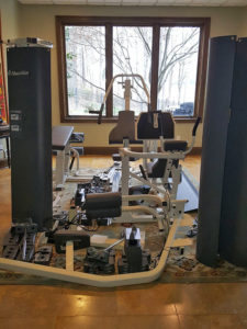 Strength equipment disassembly in Ballantyne, NC