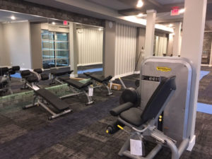 Gym installation in Waterside, TX