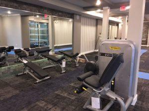 Gym installation in Waterside, TX