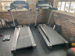 Treadmill installation in St. Louis, MO