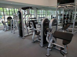 Gym installation in Richmond, TX