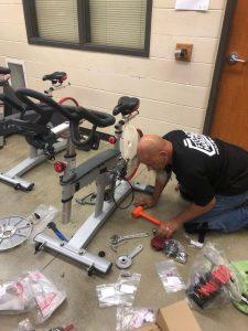 Spin bike maintenance in Hilliard, OH