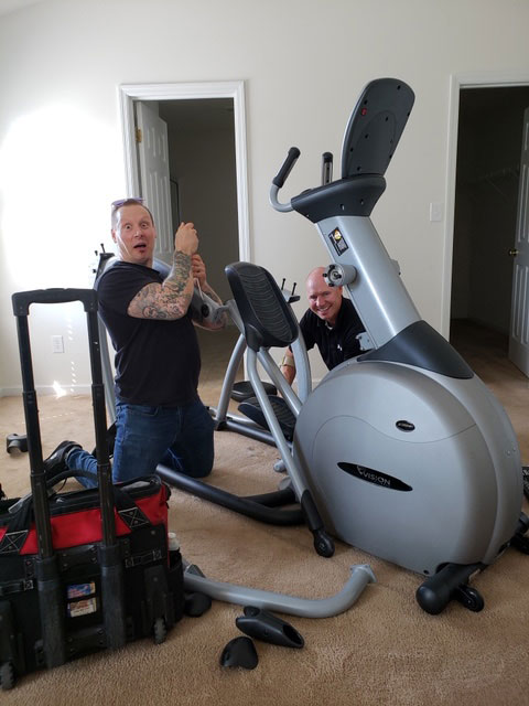 Elliptical relocation in O'Fallon, MO