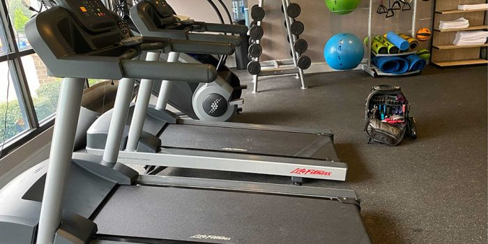 Gym repair in Concord, NC