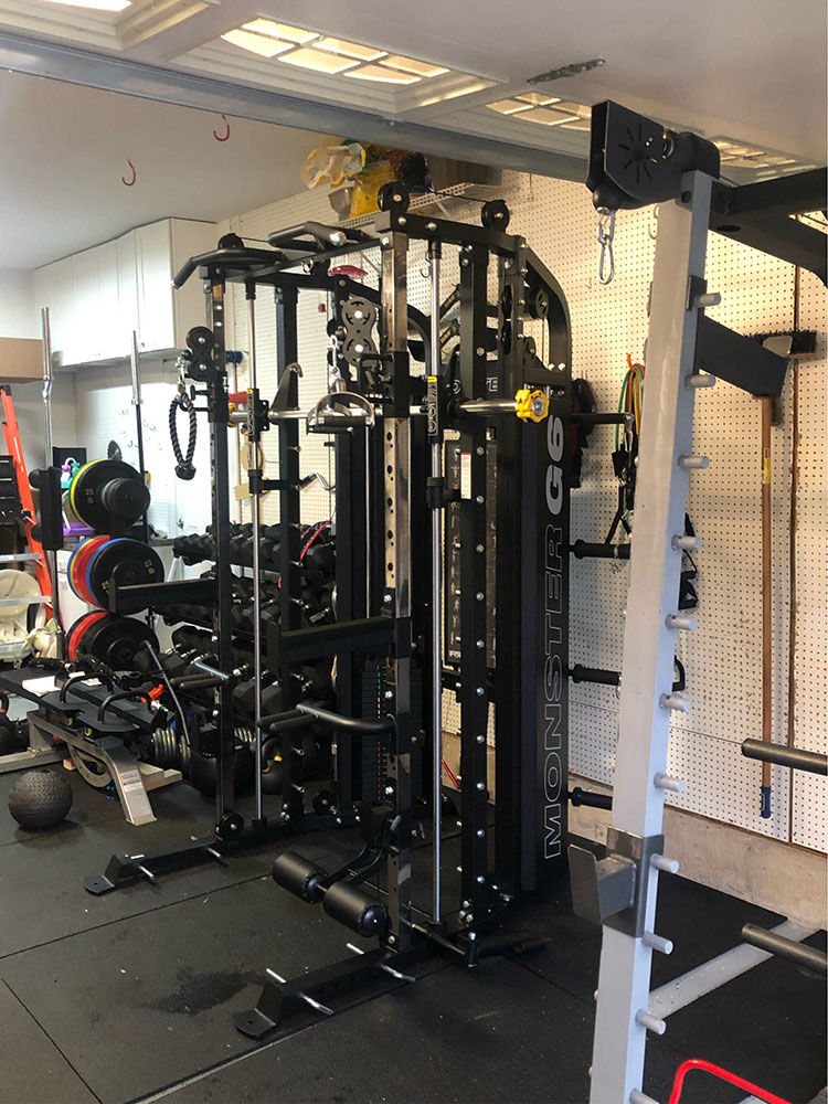 Fitness equipment assembly in Huntersville, NC