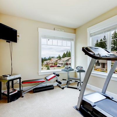 Shelter in place fitness equipment maintenance
