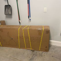 Exercise Bike in box