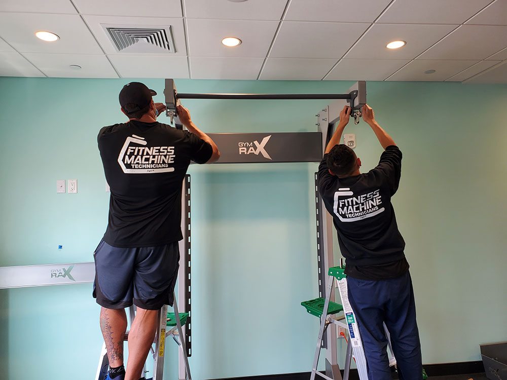 Hotel gym installation