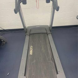 Treadmill before