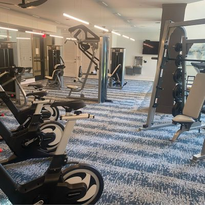 Apartment gym equipment
