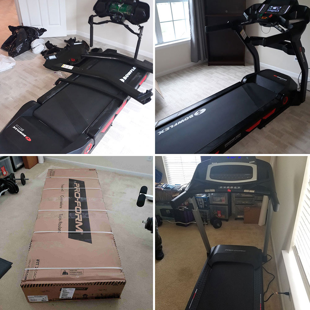 Treadmill assembly in Chicago, IL