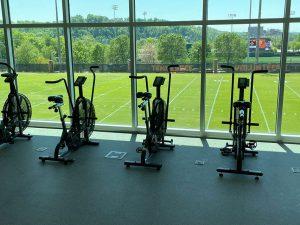 University of Tennessee exercise bike repair