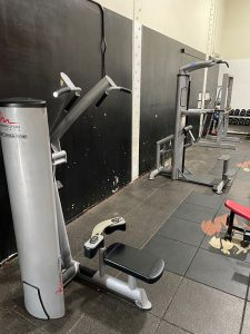 Fitness equipment assembly in Westminster, California
