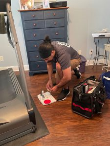 Chattanooga treadmill maintenance