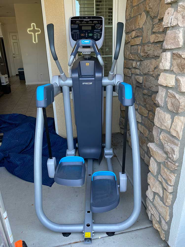 Elliptical assembly in Rancho Cucamonga, CA