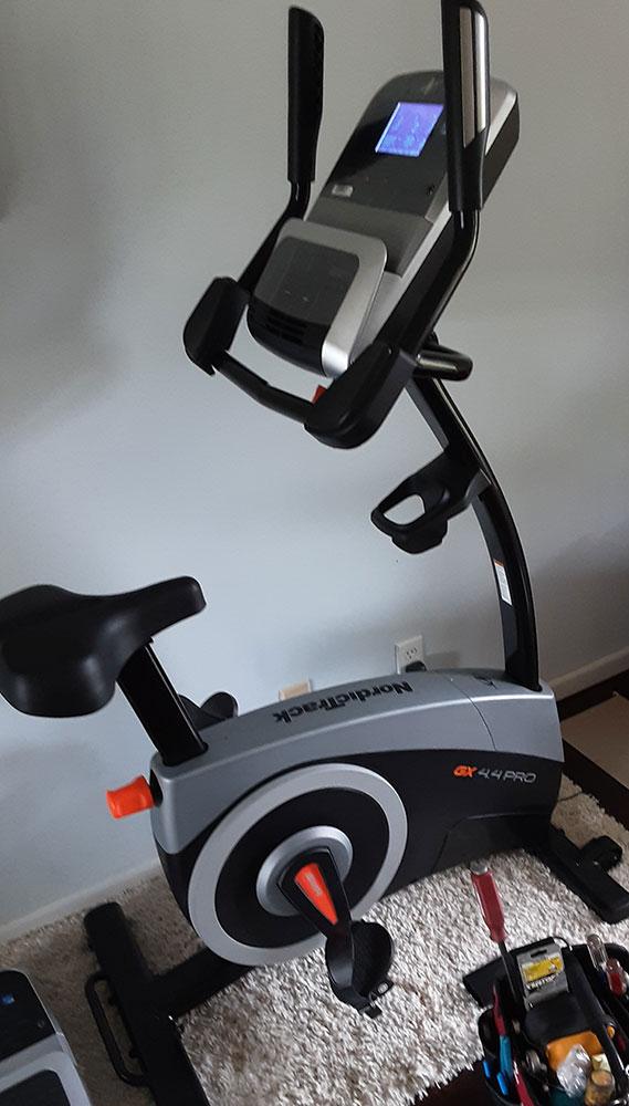 Exercise bike repair in Glendale, CA
