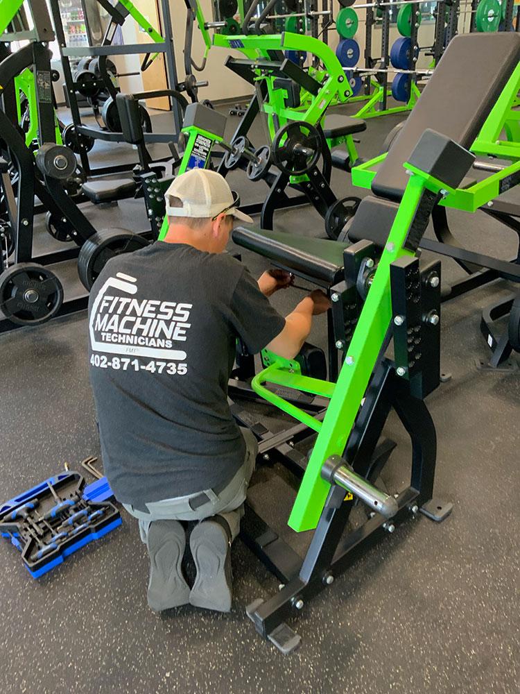 Gym equipment upholstery in Elkhorn, NE