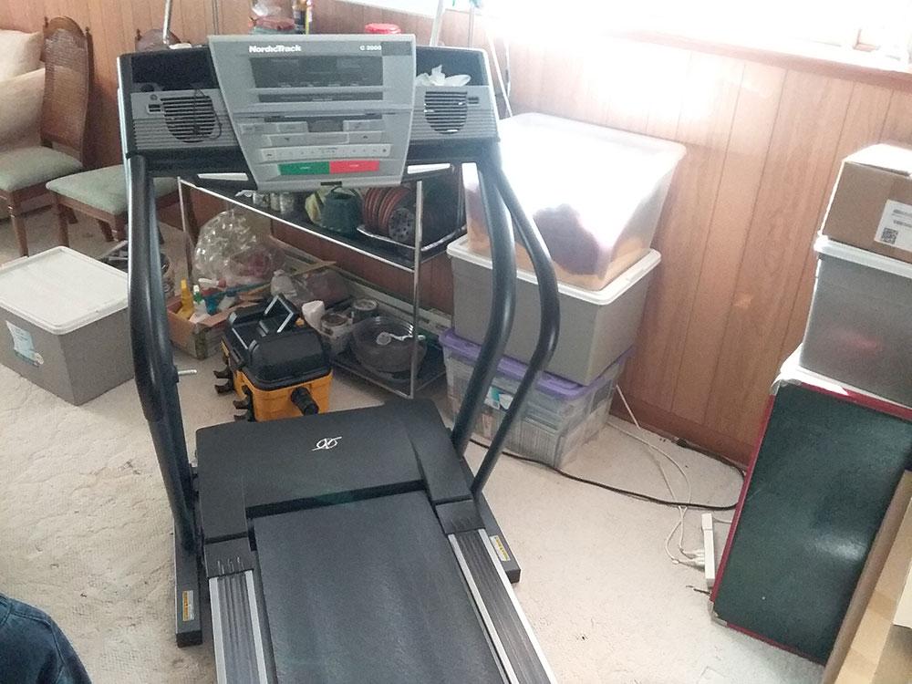 Treadmill repair in Fort Richmond, Winnipeg